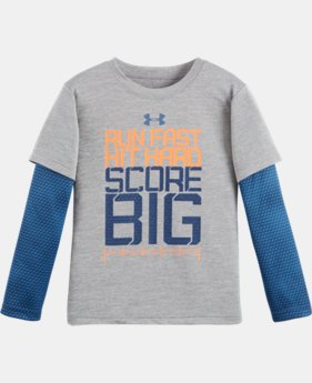 Boys' Pre-School UA Run Fast Game Day Slider LIMITED TIME: FREE U.S. SHIPPING 1 Color $29.99