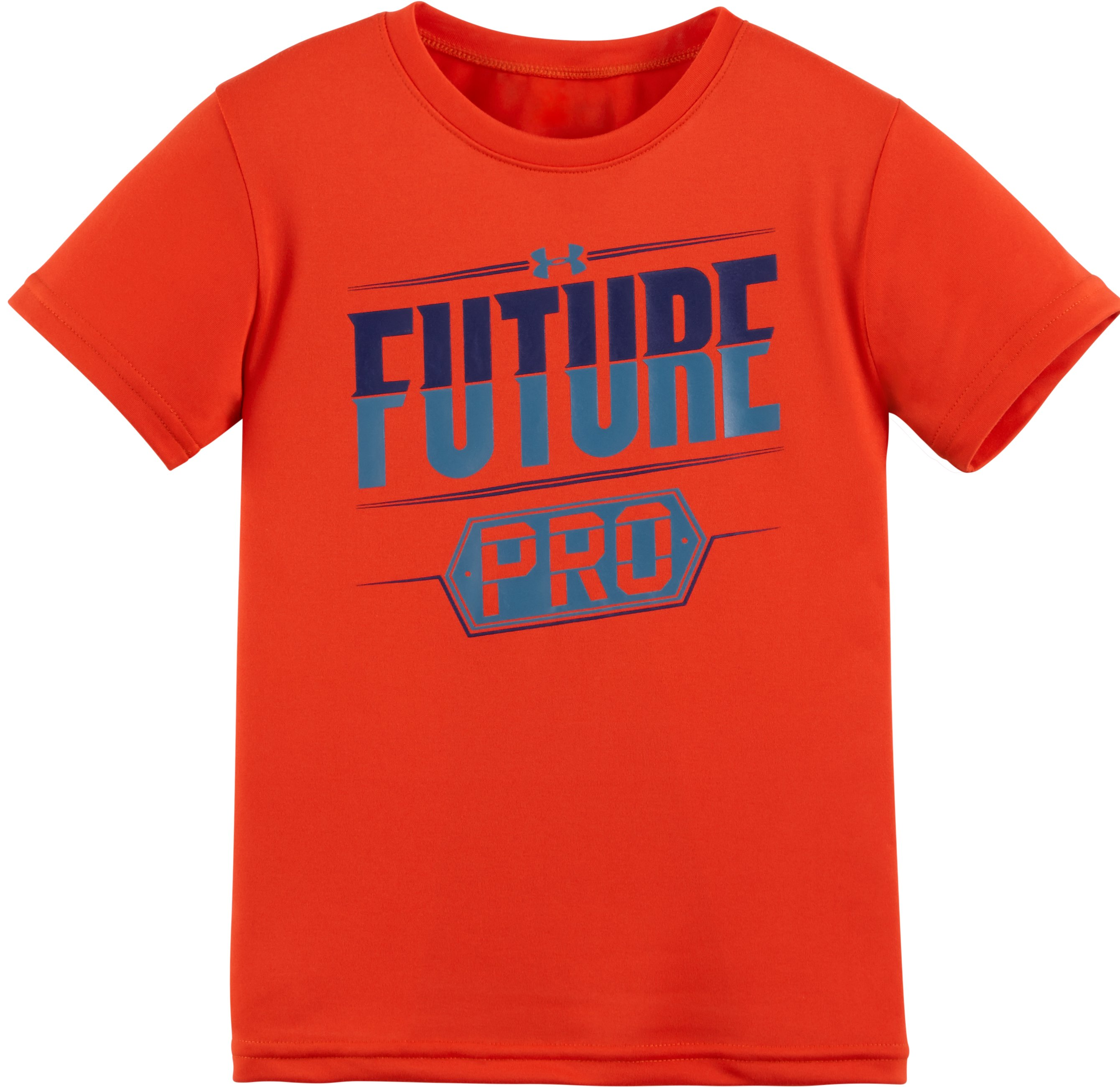 Boys' Toddler UA Future Pro Short Sleeve T-Shirt, Volcano