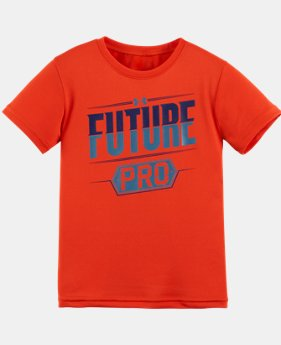 New Arrival Boys' Toddler UA Future Pro Short Sleeve T-Shirt   $17.99