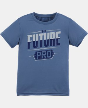 Boys' Toddler UA Future Pro Short Sleeve T-Shirt LIMITED TIME: FREE U.S. SHIPPING 1 Color $13.99