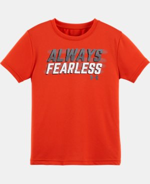 New Arrival Boys' Pre-School UA Always Fearless Short Sleeve T-Shirt  1 Color $17.99