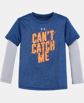 New Arrival Boys' Pre-School UA Can't Catch Me Slider   $27.99