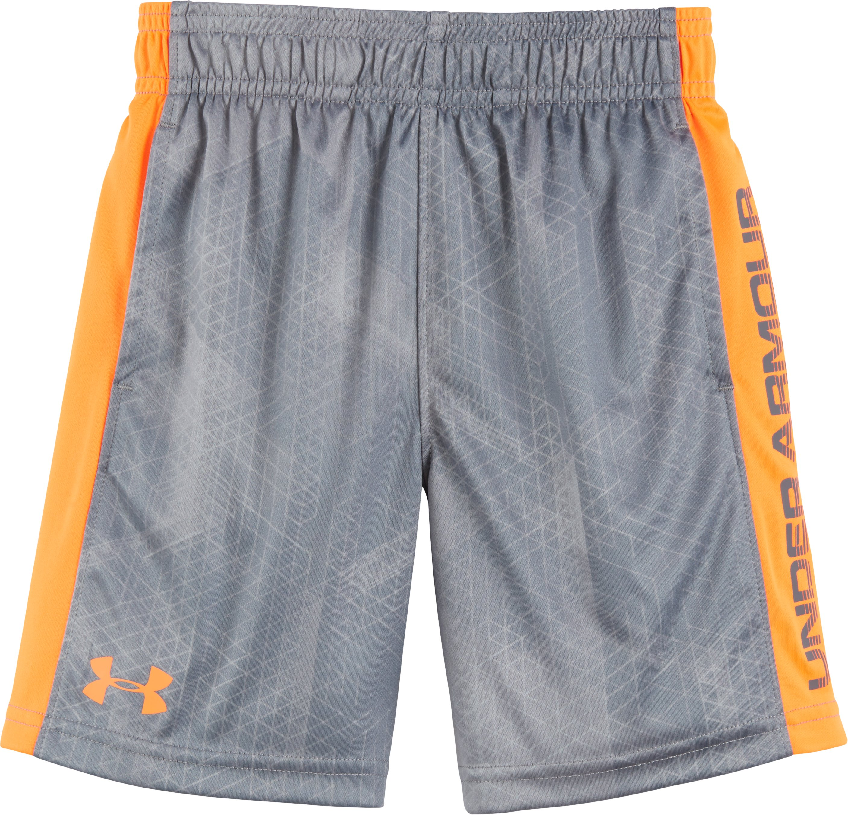 Boys' Toddler UA Elimination Shorts, Graphite, Laydown