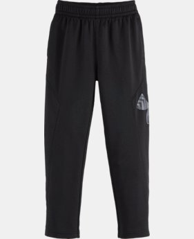 Boys' Pre-School UA Big Logo Pants   LIMITED TIME: FREE U.S. SHIPPING  $32.99