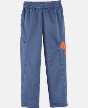Boys' Pre-School UA Big Logo Pants   LIMITED TIME: FREE U.S. SHIPPING 1 Color $32.99