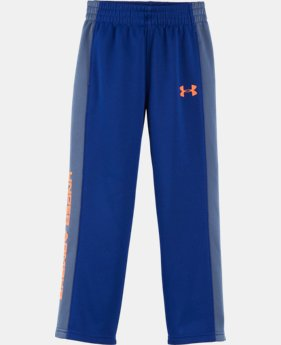 New Arrival Boys' Pre-School UA Stampede Pants  1 Color $32.99