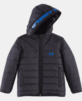 New Arrival Boys' Pre-School UA Feature Puffer Jacket     $59.99