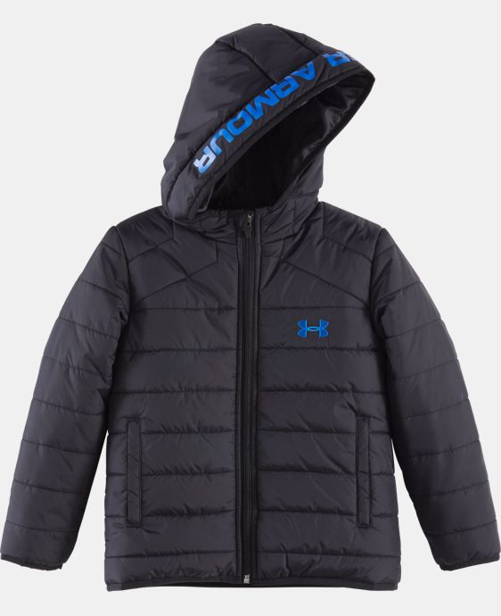 New Arrival Boys' Pre-School UA Feature Puffer Jacket   LIMITED TIME: FREE U.S. SHIPPING 4 Colors $44.99 to $59.99