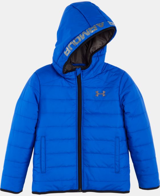 New Arrival Boys' Pre-School UA Feature Puffer Jacket   LIMITED TIME: FREE U.S. SHIPPING  $44.99 to $59.99