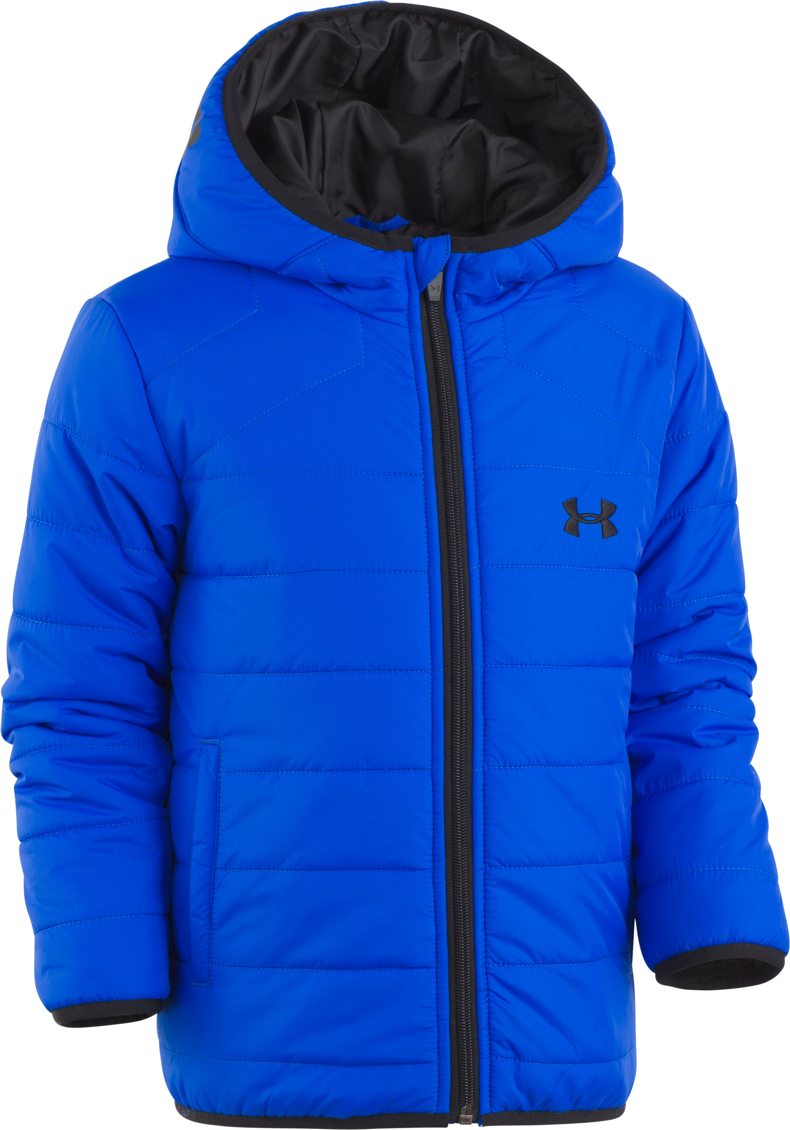 Boys' Infant UA Feature Puffer Jacket, ULTRA BLUE, Laydown