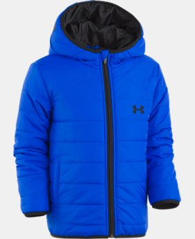 New Arrival  Boys' Infant UA Feature Puffer Jacket  1  Color Available $66.99