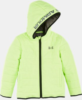 New Arrival Boys' Newborn UA Feature Puffer Jacket   1 Color $57.99