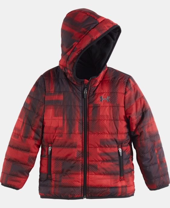 New Arrival Boys' Pre-School UA Blast Feature Reversible Puffer Jacket  1 Color $84.99