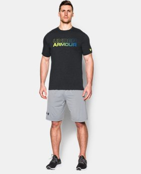 New Arrival Men's UA Wordmark Gradient T-Shirt LIMITED TIME: FREE SHIPPING 1 Color $24.99