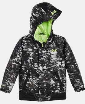 New Arrival Boys' Toddler UA Digi Blur Rideable Jacket  1 Color $124.99