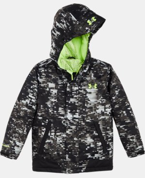 Boys' Pre-School UA Digi Blur Rideable Jacket LIMITED TIME: FREE U.S. SHIPPING 1 Color $124.99