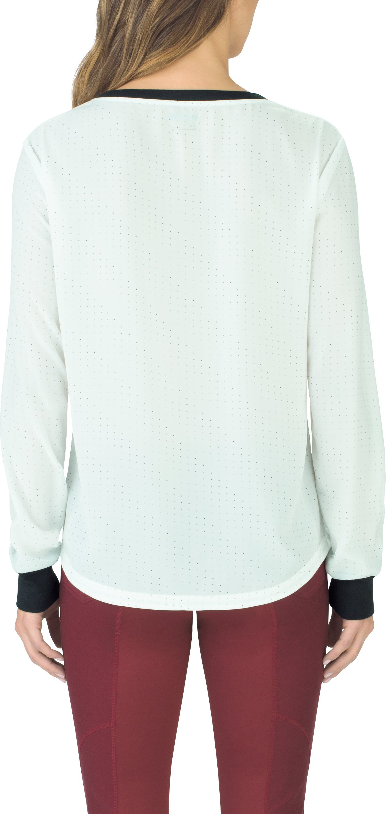 Women's UAS Downtown Flowy Long Sleeve Crew, White, undefined