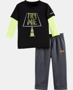 New Arrival Boys' Infant UA Try Me Set LIMITED TIME: FREE U.S. SHIPPING  $34.99