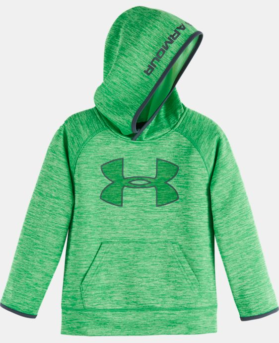 Boys' Infant UA Armour® Fleece Twist Highlight Hoodie LIMITED TIME OFFER + FREE U.S. SHIPPING  $30.74