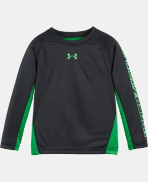 New Arrival Boys' Pre-School UA Blast Long Sleeve  1 Color $29.99