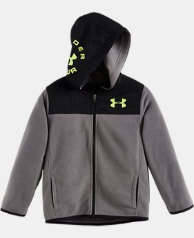 Boys' Infant UA Hundo Full Zip Hoodie  1  Color Available $30.99