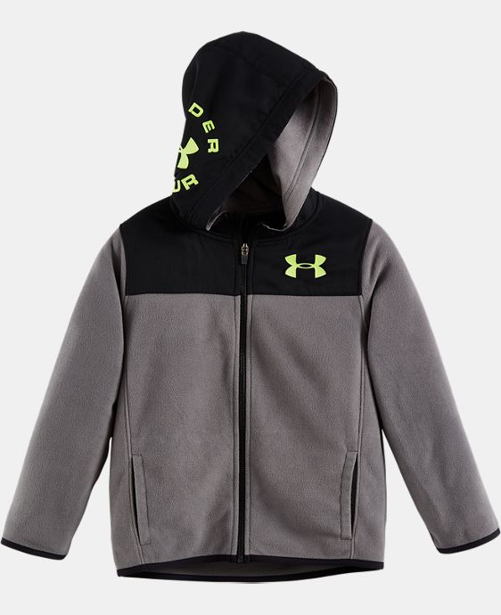 New Arrival Boys' Infant UA Hundo Full Zip Hoodie  LIMITED TIME: FREE U.S. SHIPPING  $40.99