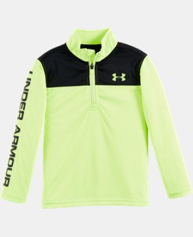 Boys' Pre-School UA Core 1/4 Zip  1 Color $26.99