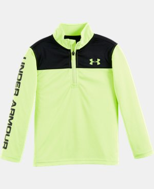 New Arrival Boys' Pre-School UA Core 1/4 Zip LIMITED TIME: FREE U.S. SHIPPING  $34.99