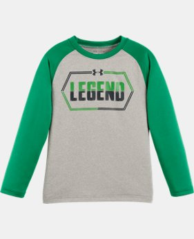 New Arrival Boys' Pre-School UA Legend Raglan Long Sleeve   1 Color $22.99