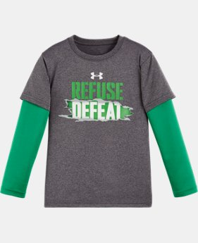 New Arrival Boys' Toddler UA Refuse Defeat Slider   $27.99