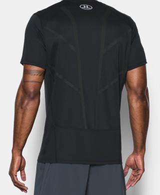 男子UA CoolSwitch短袖跑步上衣