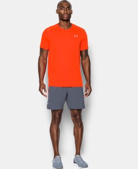 New Arrival Men's UA CoolSwitch Run Short Sleeve  1 Color $31.99 to $33.99
