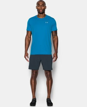 Men's UA CoolSwitch Run Short Sleeve  2 Colors $29.99 to $37.99