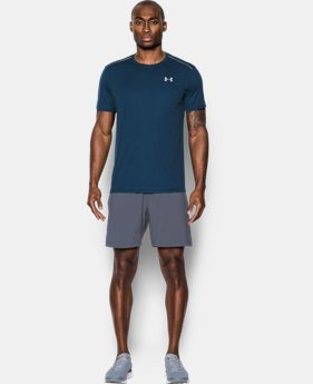 New Arrival Men's UA CoolSwitch Run Short Sleeve  1 Color $18.74 to $25.49