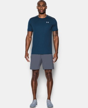 New Arrival  Men's UA CoolSwitch Run Short Sleeve   $49.99