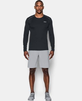 New Arrival Men's UA CoolSwitch Run Long Sleeve  1 Color $34.99