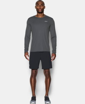 New Arrival Men's UA CoolSwitch Run Long Sleeve  1 Color $26.24