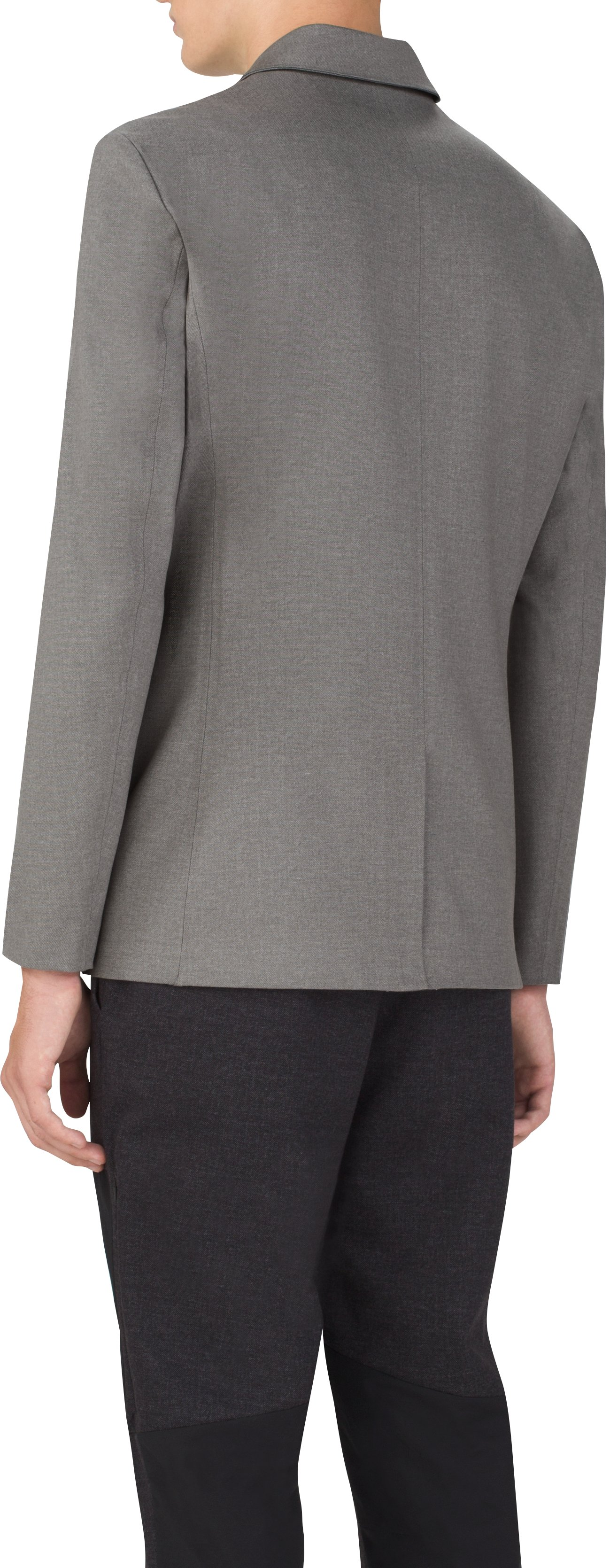 Men's UAS Draftday Tailored Blazer, LIGHT HEATHER GRAY,