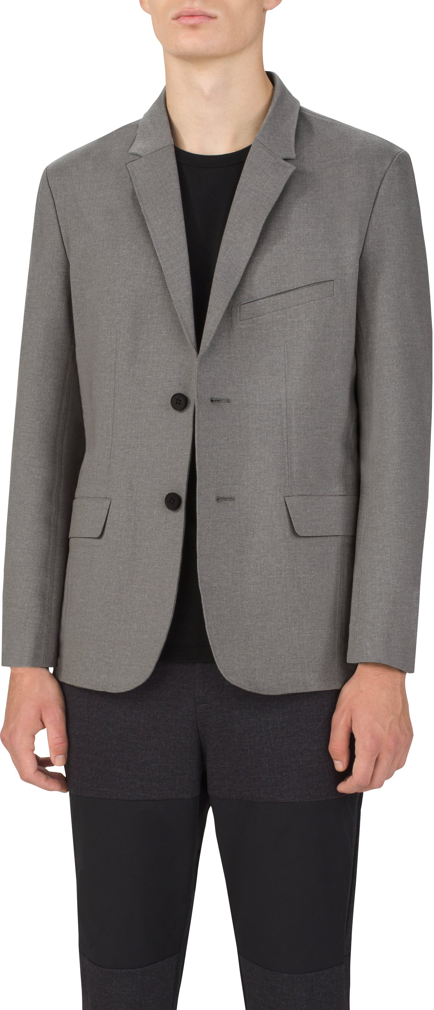 Men's UAS Draftday Tailored Blazer, LIGHT HEATHER GRAY