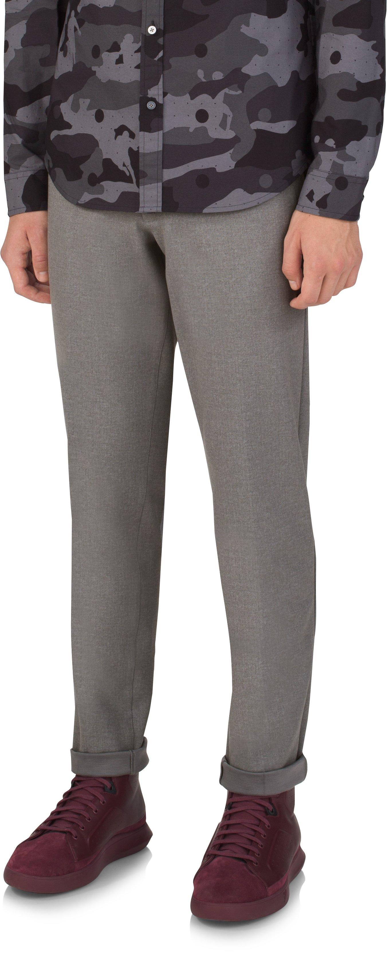 Tailored Suiting Trouser, LIGHT HEATHER GRAY