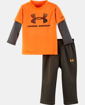 Boys' Infant UA Hunt Big Logo Set LIMITED TIME: FREE U.S. SHIPPING  $34.99