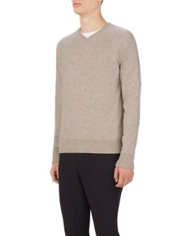 Men's UAS Gridknit Cashmere V-Neck Sweater  1 Color $199