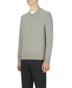 Men's UAS Gridknit Cashmere V-Neck Sweater  3 Colors $199