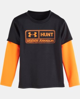 Boys' Pre-School UA Hunt Slider  1 Color $22.99