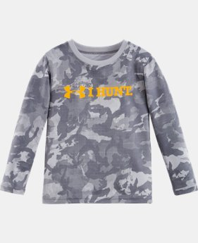 New Arrival Boys' Pre-School UA I Hunt Long Sleeve  2 Colors $29.99