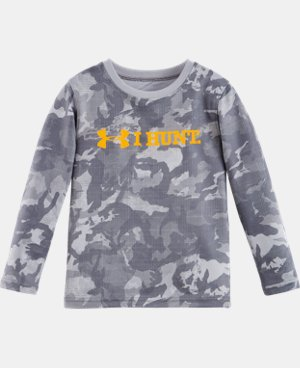 Boys' Pre-School UA I Hunt Long Sleeve LIMITED TIME: FREE U.S. SHIPPING 2 Colors $22.99