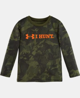Boys' Pre-School UA I Hunt Long Sleeve LIMITED TIME: FREE U.S. SHIPPING 1 Color $22.99
