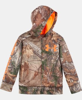 New Arrival Boys' Toddler UA Camo Full Zip Hoodie  1 Color $54.99