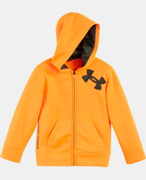 Boys' Pre-School UA Camo Logo Full Zip Hoodie LIMITED TIME: FREE U.S. SHIPPING 1 Color $32.99