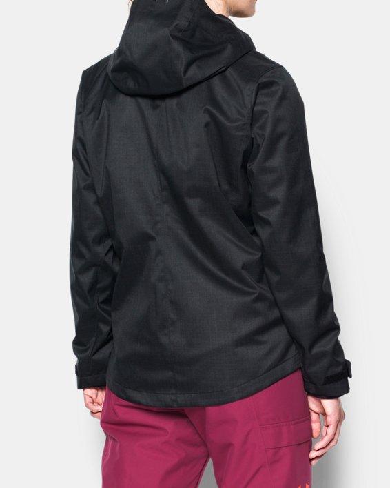 Women's UA Sienna 3-in-1 Jacket, Black, pdpMainDesktop image number 2